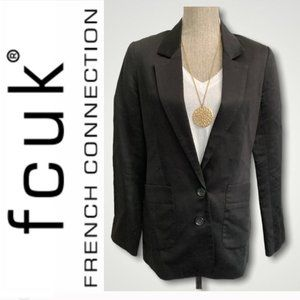 French Connection Classic Black Blazer
